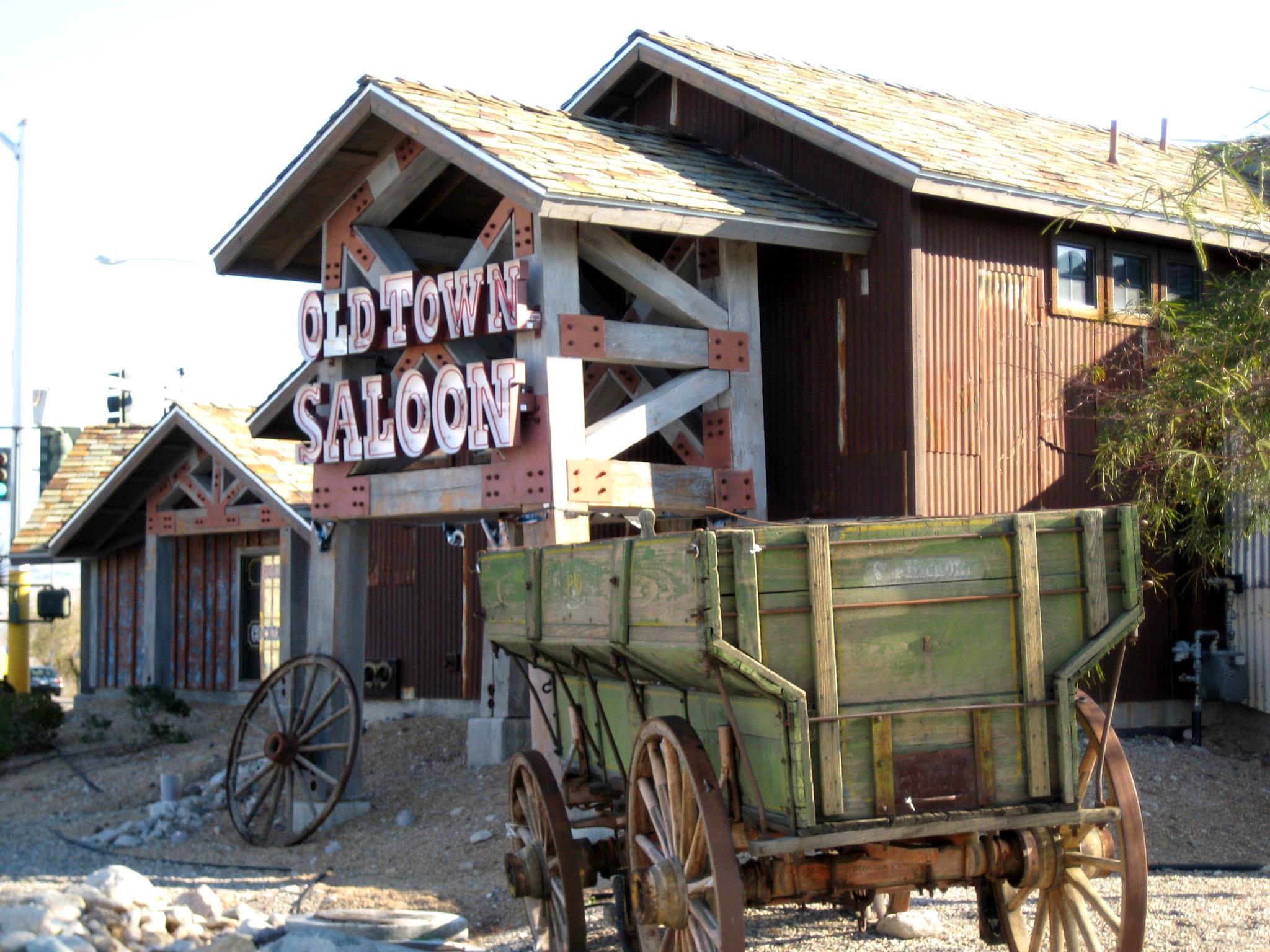 Old Town Saloon logo