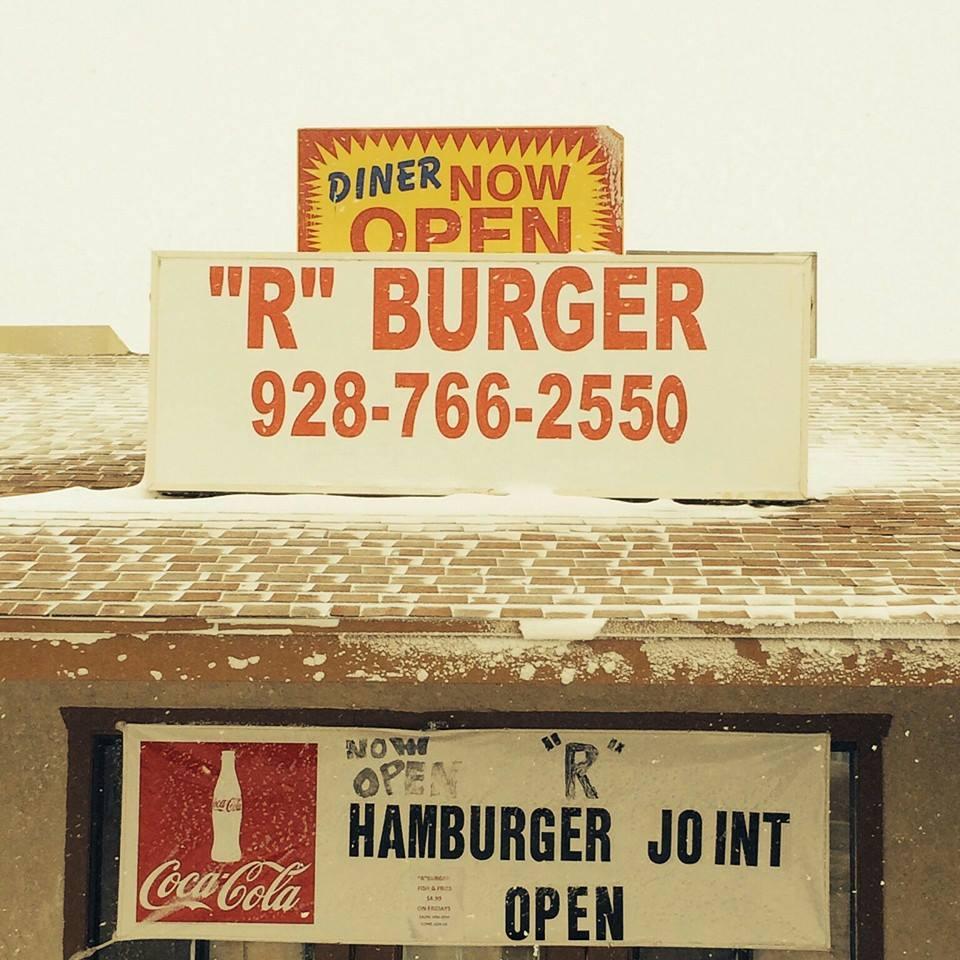 R Burger Joint logo