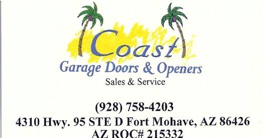 Coast Garage Doors & Openers logo