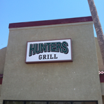 Hunters Grill Restaurant & Lounge logo