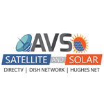 AVS Satellite And Solar logo