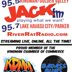 River Rat Radio 95.5 FM KPKR logo