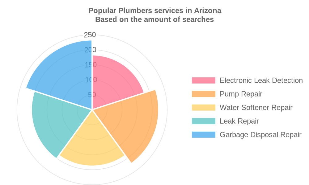 Popular services provided by plumbers in Arizona