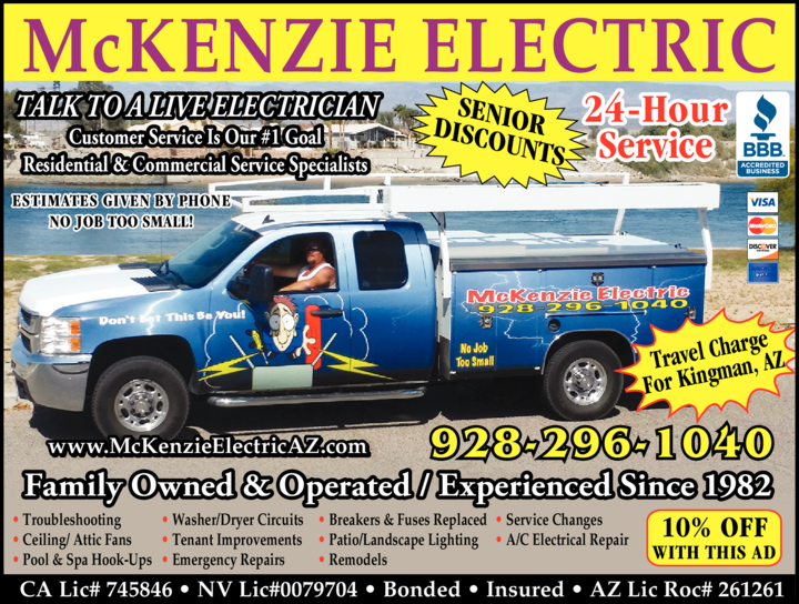 Print Ad of Mckenzie Electric