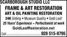 Print Ad of Scarborough Studio Llc
