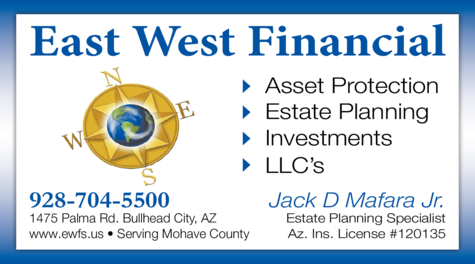 Print Ad of East West Financial Services