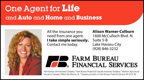 Print Ad of Farm Bureau Financial Services