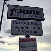 Pure Auto Body & Paint logo