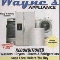 Wayne's Appliance logo