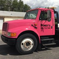 Pinky's Towing logo