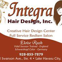 Integra Hair Design logo