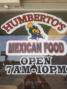 Humberto's Mexican Food logo