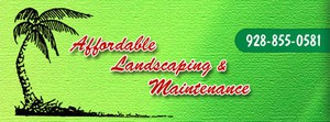 Affordable Landscaping & Maintenance logo