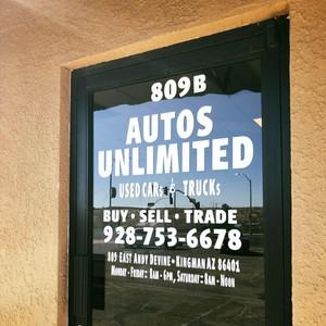 Autos Unlimited logo