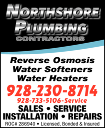 Yellow Pages Ad of Northshore Plumbing