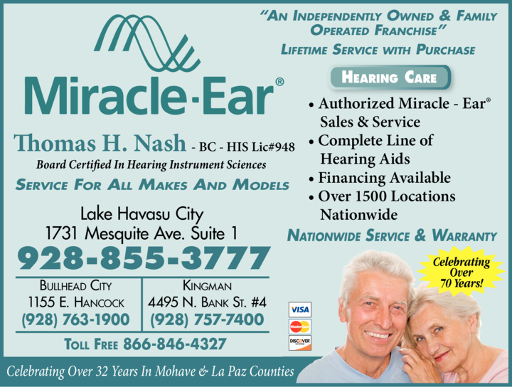 Yellow Pages Ad of Miracle-Ear