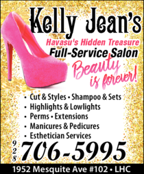 Yellow Pages Ad of Kelly Jean's