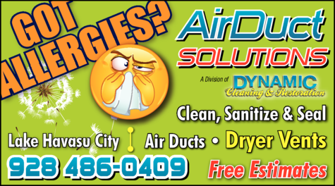 Yellow Pages Ad of Air Duct Solutions