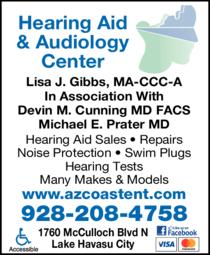Yellow Pages Ad of Arizona Coast Ear Nose Throat Allergy & Sleep Medicine