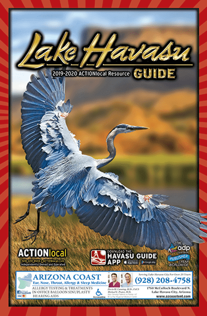 Lake Havasu Print Directory Cover